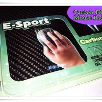 Carbon Fiber Mouse Pad 3K碳纖維滑鼠墊 21×21cm