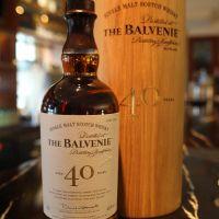 (現貨) The BALVENIE Aged 40 years 百富 40年 公司貨 (700ml 48.5%)