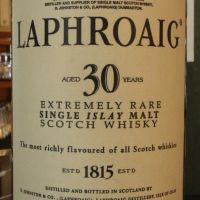 (現貨) LAPHROAIG 30 years 拉佛格 30年 稀有美品 (700ml 43%)