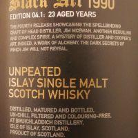 (現貨) BRUICHLADDICH Black Art 1990 Edition 04.1 布萊迪 1990 黑色藝術 0.41版 (750ml 49.2%)