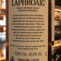 (現貨) LAPHROAIG 32 years Limited Edition 拉佛格 32年 原酒強度 限量版 (700ml 46.6%)