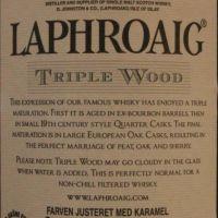 LAPHROAIG Triple Wood 拉佛格 三桶 (1000ml 48%)