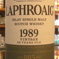 (現貨) LAPHROAIG Vintage 1989 23 years 拉佛格 1989 23年 (700ml 48.9%)