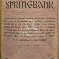 Springbank 30 years old version 老雲頂 30年 經典收藏 (700ml 46%)