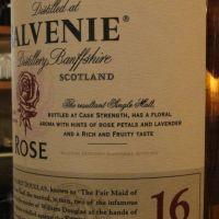 (現貨) The BALVENIE ROSE 16 years  百富 玫瑰 16年 珍藏逸品 拍賣會等級 (700ml 53.4%)