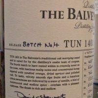 (現貨) The BALVENIE Tun 1401 Batch No.4 百富 1401 第四批次 (700ml 50.4%)