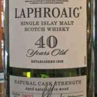 (現貨) LAPHROAIG 40 years 拉佛格 40年 原酒 經典老品 (700ml 42.4%)