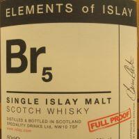 Elements of Islay Br5 艾雷元素 Br5 布萊迪 原酒 (500ml 53.8%)