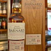 (現貨) ALFRED BARNARD Clynelish 1988 23 years Single Cask 克萊力士 1988 23年 單桶原酒 (700ml 56.5%)