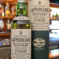 (現貨) LAPHROAIG Vintage 1988 18 years 拉佛格 1988 18年 (700ml 49.3%)