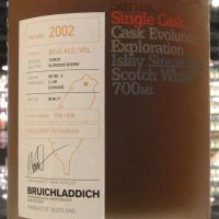 (現貨) BRUICHLADDICH 2002 Exclusive to Taiwan 布萊迪 2002 雪莉單桶 台灣限定版 (700ml 60.4%)