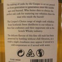 Cooper's Choice – Port Charlotte 2006 11 Years 酷選大師 布萊迪 波夏 2006 波本桶 (700ml 46%)