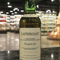 (現貨) LAPHROAIG 10 Years Unblended Bottled 1980s 拉佛格 10年 1980年代裝瓶 (750ml 46%)