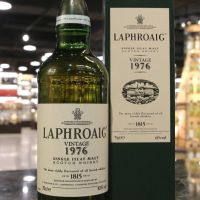 (現貨) Laphroaig Vintage 1976 Single Malt Whisky 拉佛格 1976 單一麥芽威士忌 (750ml 43%)