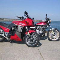 Kawasaki GPZ900R 阿湯哥的Top Gun 陳年帥氣 依然破錶