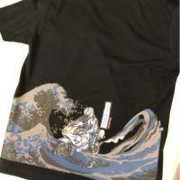 (2T魂限定) 限量設計款T恤 海浪滔滔之噴煙藝術