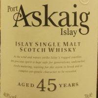 Port Askaig 45yr 波特阿西卡 45年 (40.8% 30ml)