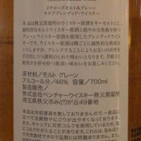CHICHIBU Ichiro's Malt Malt & Grain Blended Whisky 秩父 白葉 (46% 30ml)
