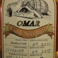 TTL Omar 2010~2016 Bourbon Cask Strength 臺灣菸酒 奧馬爾 波本桶原酒 (57.2% 30ml)