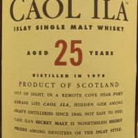 Caol Ila 25yr 1978 Natural Cask Strength 卡爾里拉 25年 1978 原酒 (59.4% 30ml)