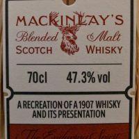Mackinlay's Rare Old Shackleton's Journey 麥肯雷 薛克頓南極冰封百年復刻版 (47.3% 30ml)