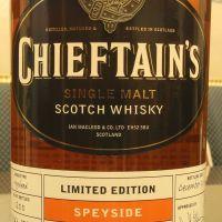 Chieftain's 25yr 2014 Speyside Limited Edition 老酋長 25年 限定版 (43% 30ml)