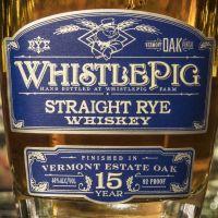 WhistlePig 15yr Vermont Estate Oak Finish Rye 口哨豬 15年 佛蒙特州桶 裸麥 (46% 30ml)