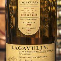 Lagavulin 1991 Tpile Matured Feis Ile 2015 拉加維林 2015艾雷島嘉年華 (59.9% 30ml)