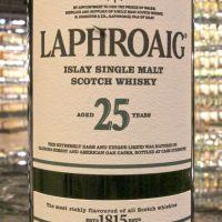 Laphroaig 25yr Cask Strength 拉佛格 25年 2017雙桶原酒 (48.9% 30ml)