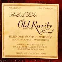 Bulloch Lade's Old Rarity Blended Scotch 86.8 Proof 布洛克拉德 (49.6% 15ml)