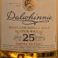 Dalwhinnie 25yr 1989~2015 Limited Release 達爾維尼 25年 限定版 (48.8% 30ml)