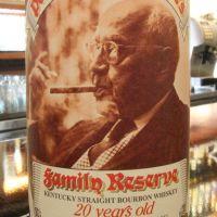 Pappy Van Winkle's 20yr Family Reserve Straight  凡温克爾20年波本原酒 稀有逸品 (45.2% 30ml)