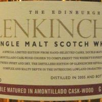 Glenkinchie 2005-2017 Double Matured in Amontillado Cask 格蘭昆奇 12年 雪莉雙桶 (43% 30ml)