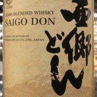 Mars Hombo Saigo Don Japanese Blended 本坊酒造 西鄉調和威士忌  2018限定 (40% 30ml)