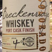 Breckenridge Port Cask Finish Colorado Bourbon 布雷肯里奇 波特熟成 科羅拉多州波本 (45% 30ml)
