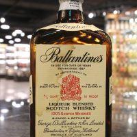 Ballantine's Blended 4/5 Quart 百齡罈 調和威士忌 70年代 (49.5% 15ml)