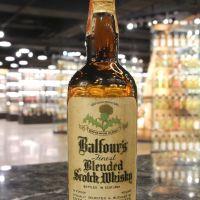 Balfour's 100% Scotch Finest Blended Scotch Whisky 貝爾福 調和威士忌 60年代 (49.6% 15ml)