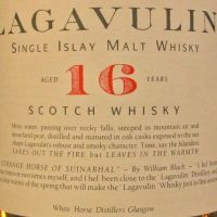 Lagavulin 16yr Single Malt White Horse 拉加維林 16年 白馬版 90年代晚期 (43% 15ml)