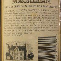 Macallan 10yr Exclusively Matured in Sherry Oak 麥卡倫 10年 雪莉桶 (40% 15ml)
