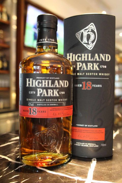 Highland Park 18 years 高原騎士 18年 (700ml 43%)