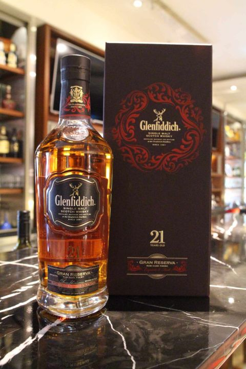 (現貨) Glenfiddich 21 years 格蘭菲迪 21年 Gran Reserva (700ml 40%)