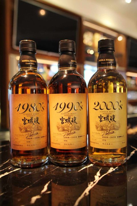 (現貨) Nikka MIYAGIKYO 宮城峽 酒廠限定原酒 1980's 1990's 2000's