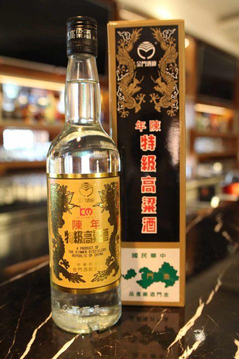 Kinmen Kaoliang 金門酒廠 陳年特級高梁酒~黑金剛 (600ml 56%)
