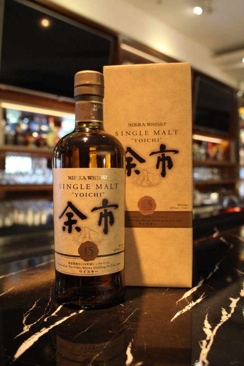 (現貨) Nikka Yoichi 15 years 余市 15年 單一麥芽威士忌 (700ml 45%)