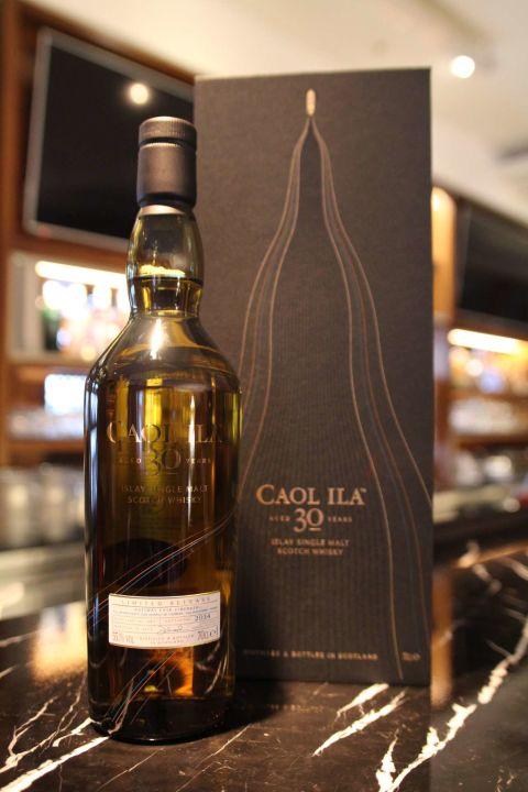 (現貨) Caol Ila  30 years 卡爾里拉 30年 1983特別版原酒 艾雷島Islay (700ml 55.1%)