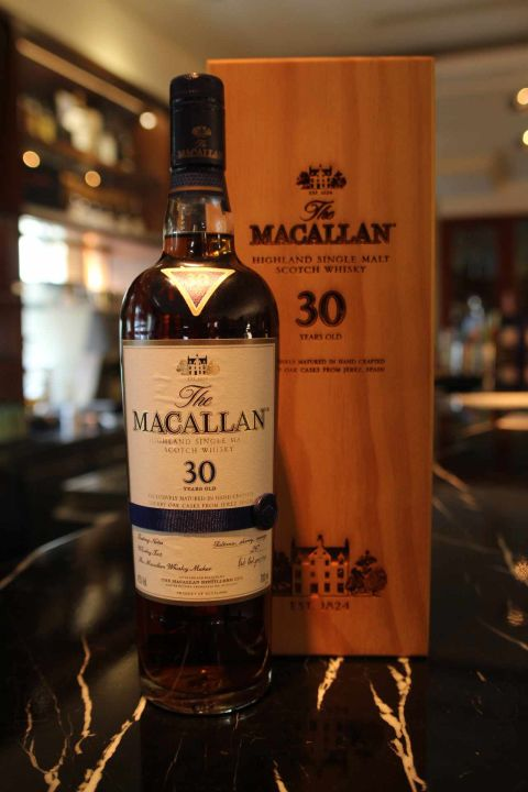 (現貨) Macallan 30 years sherry oak 麥卡倫 30年 雪莉桶 (700ml 43%)