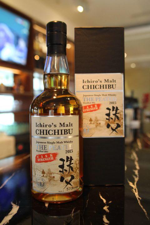 (現貨) CHICHIBU Ichiro's Malt The Peated 2015 秩父 泥煤 2015 原酒 (700ml 62.5%)