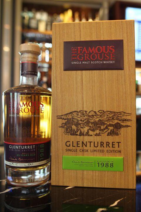(現貨) Glenturret 25 years 1988 陀崙特 25年 1988 單桶原酒 (700ml 49.1%)