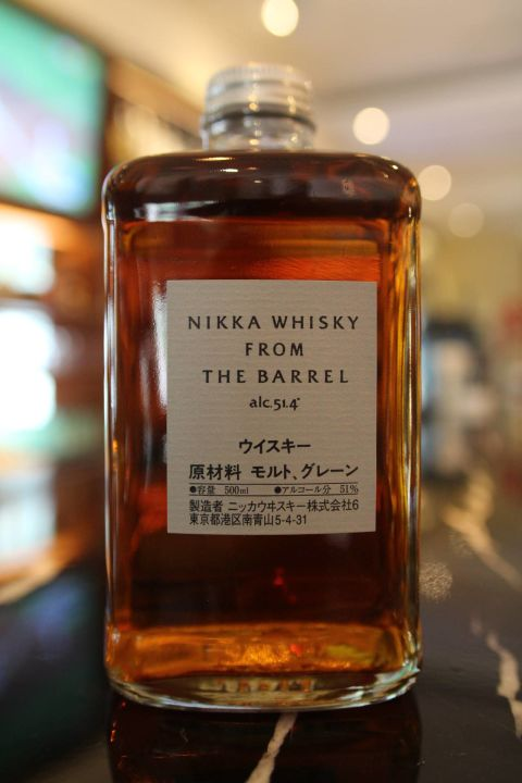 (現貨)Nikka whisky from the barrel double matured blended whisky (500ml 51.4%)