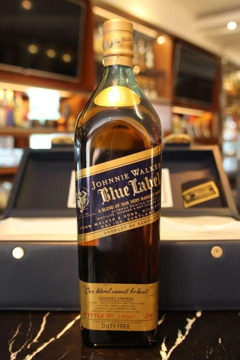 """(現貨) Johnnie Walker Blue Label """"絕版珍藏"""" 約翰走路藍牌 調和威士忌 (1.75L 40%)"""